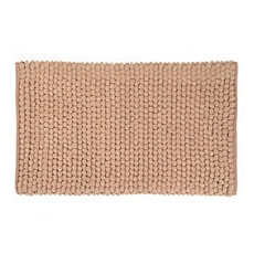 Taupe Plush Bubble Bath Mat at Kirkland's