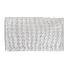 White Plush Bubble Bath Mat at Kirkland's