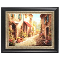 Allee Du Village Frame Art Print at Kirkland's