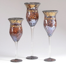 Cinnamon Mosaic Charisma, Set of 3 at Kirkland's