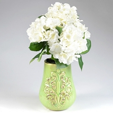 Hydrangea Green Floral Arrangement at Kirkland's