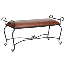 Margot Metal Bench at Kirkland's