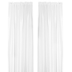 Turin Cream Curtain Panel, Set of 2 at Kirkland's