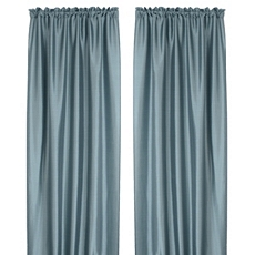 Turin Blue Curtain Panel, Set of 2 at Kirkland's