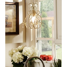Grace Ivory Chandelier at Kirkland's