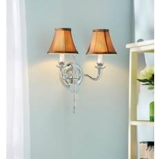 Csilla Silver Wall Sconce at Kirkland's