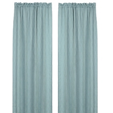 Colton Aqua Curtain Panels, Set of 2 at Kirkland's