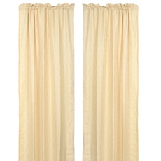 Colton Cream Curtain Panel, Set of 2 at Kirkland's