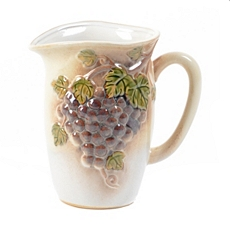 Ceramic Grape Pitcher at Kirkland's