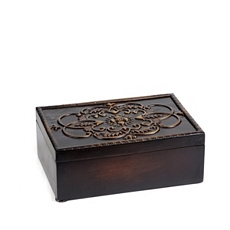 Embossed Wood Box at Kirkland's