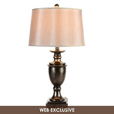 Brenton Antique Pewter Table Lamp at Kirkland's