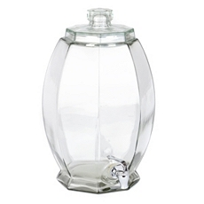 Cranston Glass Beverage Dispenser, 3-Gallon at Kirkland's