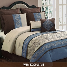 King Sandra 8-pc. Comforter Set at Kirkland's