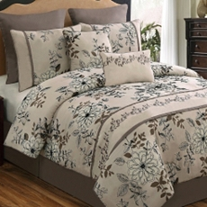 Queen Ella 8-pc. Comforter Set at Kirkland's
