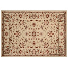 Chester Ivory Oushak Area Rug, 5x7 at Kirkland's