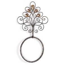 Glimmer Towel Ring at Kirkland's