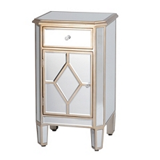 Manhattan Mirrored Nightstand at Kirkland's