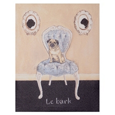 La Bark Pug Canvas Art Print at Kirkland's