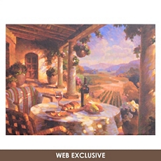 Tuscany Afternoon Canvas Art Print at Kirkland's