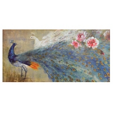 Two Peacocks Canvas Art Print at Kirkland's