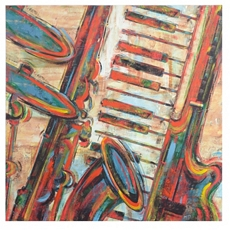 Jazz Montage Canvas Art Print at Kirkland's