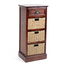 Brown 4-Drawer Storage Chest at Kirkland's