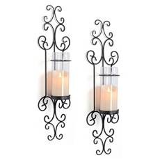Sullivan Sconce, Set of 2 at Kirkland's