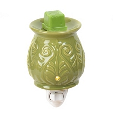 Ceramic Scroll Tart Burner Night Light at Kirkland's