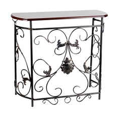 Andrea Scroll Console Table at Kirkland's