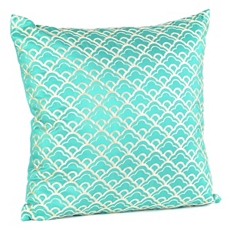 Cloudfall Teal & Ivory Pillow at Kirkland's