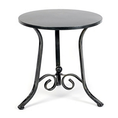 Scroll & Knob Metal Accent Table at Kirkland's