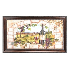 Tuscan Grape Archway Framed Art Print at Kirkland's