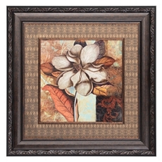 Brocade Magnolia Framed Art Print at Kirkland's