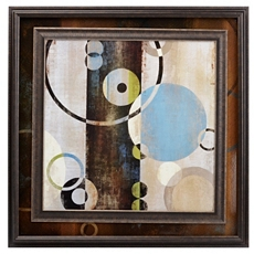 Interlocking Planets Framed Art Print at Kirkland's