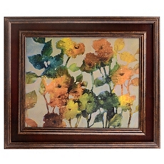 Rich Spice Floral Framed Art Print at Kirkland's