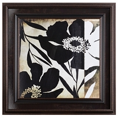 Floral Lines Framed Art Print at Kirkland's