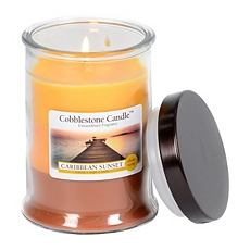 Caribbean Sunset Jar Candle at Kirkland's