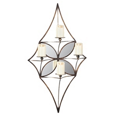 Mirror Diamond Wall Candle Holder at Kirkland's