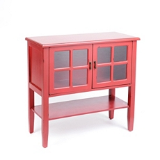 Red Granville Cabinet at Kirkland's