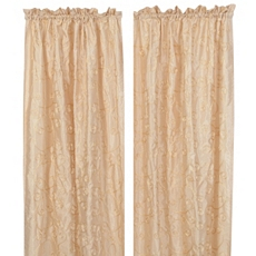Ivory Antique Scroll Curtain Panel, Set of 2 at Kirkland's