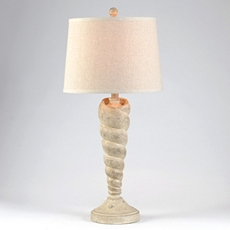 Cream Sea Shell Table Lamp at Kirkland's