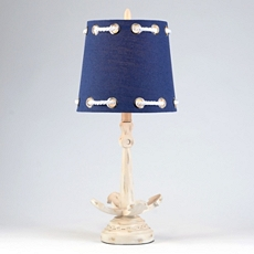 Navy Rope & Anchor Table Lamp at Kirkland's