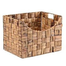 Hyacinth Woven Storage Basket at Kirkland's