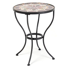 Flower Burst Mosaic Accent Table at Kirkland's