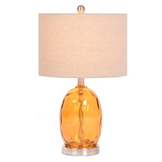 Clementine Dimpled Glass Table Lamp at Kirkland's