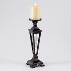 Madison Bronze & Mirror Candle Holder, 14 in. at Kirkland's