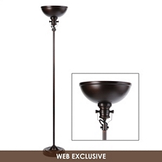 Oil Rubbed Bronze Torchiere at Kirkland's