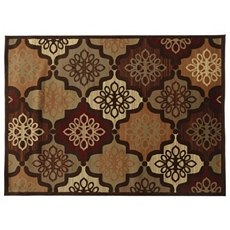 Darcy Quatrefoil Medallion Area Rug, 5x7 at Kirkland's