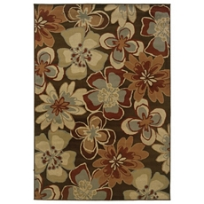 Darcy Spicy Floral Area Rug, 5x7 at Kirkland's