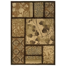 Darcy Brown Patch Area Rug, 5x7 at Kirkland's